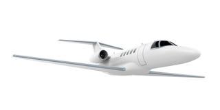 Изолированный двигатель самолета Стоковая Фотография RF