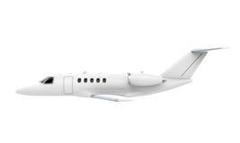 Изолированный двигатель самолета Стоковые Фото