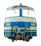 Изолированный винтажный тепловозный поезд Стоковая Фотография RF