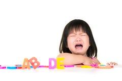 Изолированный выкрик детей Стоковые Фотографии RF