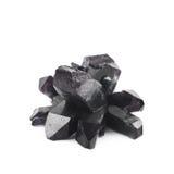 Изолированный выращенный кристалл соли Стоковая Фотография RF