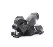 Изолированный выращенный кристалл соли Стоковые Изображения RF