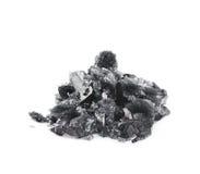 Изолированный выращенный кристалл соли Стоковое Изображение RF