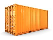 Изолированный грузовой контейнер бесплатная иллюстрация