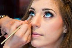 изолированный глаз составляет белизну Стоковые Изображения RF