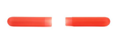 Изолированный держатель коробки случая зубной щетки Стоковые Фото