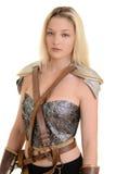 Изолированный женский ратник Стоковые Фотографии RF