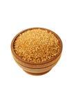 Изолированный желтый сахарный песок Стоковая Фотография RF