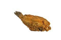 Изолированный зажаренных рыб Стоковые Изображения RF