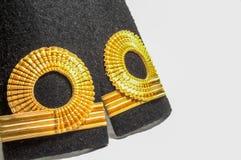 Изолированный знак ряда epaulet военно-морского флота Стоковые Фотографии RF