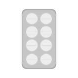 Изолированный дизайн медицины Стоковые Изображения RF