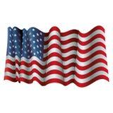 Изолированный дизайн флага США Стоковая Фотография RF