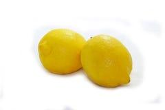 Изолированный лимоном желтый цвет природы белого плодоовощ тропический Стоковое Изображение