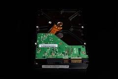 Изолированный дисковод жесткого диска компьютера Стоковые Фотографии RF