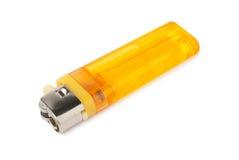 Изолированный лихтер сигареты Стоковое Фото