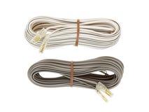 Изолированный кабель диктора Стоковое Изображение RF