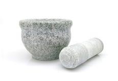 Изолированный каменный шар Стоковое фото RF