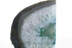 Изолированный камень агата Стоковое Изображение