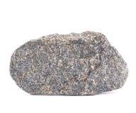 Изолированный камень гранита стоковые изображения rf
