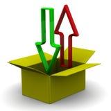 изолированный картон коробки затеняет белизну Нагружать и разгржать содержания иллюстрация штока