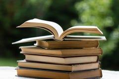 изолированный книгами стог серии Стоковые Фото