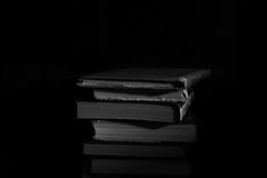 изолированный книгами стог серии Стоковое Изображение