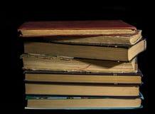 изолированный книгами стог серии Стоковое фото RF