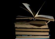 изолированный книгами стог серии Стоковая Фотография RF