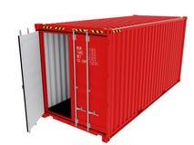 Изолированный контейнер для перевозок Стоковая Фотография RF
