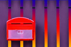 изолированный коробкой предмет почты 3d Стоковые Изображения RF