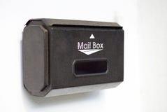 изолированный коробкой предмет почты 3d Стоковое Фото