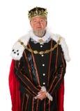 Изолированный король Стоковое Фото
