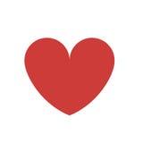 Изолированный красный дизайн сердца бесплатная иллюстрация