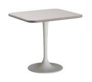 Изолированный круглый стол Стоковые Фотографии RF