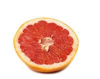 Изолированный кусок грейпфрута Стоковые Фотографии RF