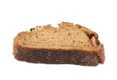 Изолированный кусок хлеба куска Стоковое Изображение