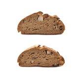 Изолированный кусок хлеба куска Стоковые Фотографии RF