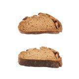 Изолированный кусок хлеба куска Стоковое Изображение RF