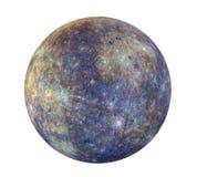 Изолированный Меркурий планеты иллюстрация штока