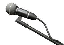 изолированный микрофон иллюстрация вектора