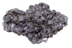 Изолированный минерал свинчака Стоковое Изображение
