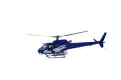 Изолированный непредвиденный вертолет спасения Стоковые Фото