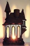 Изолированный дом подсвечника Стоковое Фото