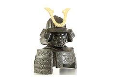 Изолированный панцырь самураев Стоковое фото RF