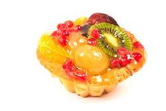 Изолированный пирог пирога плодоовощ Стоковые Фотографии RF