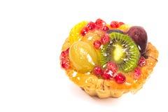 Изолированный пирог пирога плодоовощ Стоковое фото RF