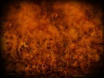 изолированный пожар предпосылки черный Стоковые Фото