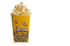 изолированный попкорн Стоковое Изображение RF