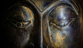 Изолированный портрет Будды Стоковые Фото