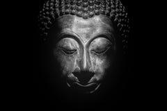 Изолированный портрет Будды Стоковые Изображения RF
